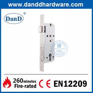 CE EN12209 Euro Fire Rated Sash Door Commercial Door Lock-DDML026