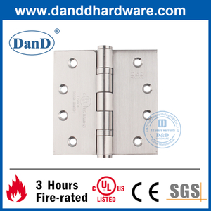 SUS201 Fire Resistance Butt Interior Door Hinge with UL Listed-DDSS001-FR-4X4X3