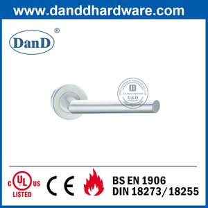 SUS304 Class 4 European Style Fire Rated Commercial Door Handle-DDTH012