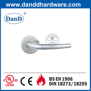 CE Grade 4 SUS304 External Door Handle for Fire Rated Door-DDTH004