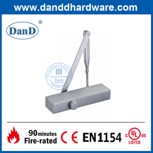 CE EN1154 Quiet Fire Rated Hydraulic Industrial Door Closer-DDDC013