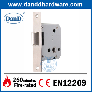 Euro Casting SUS304 Latch Bolt Lock Body for Outer Door-DDML028
