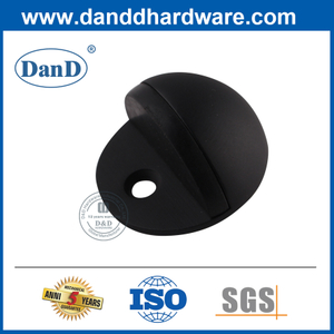 Matte Black Stainless Steel Hemisphere Door Stopper-DDDS001