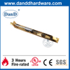 Stainless Steel Satin Brass Flush Door Bolt for Wood Door-DDDB001