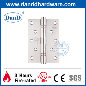 5 Inch SS316 Ball Bearing Fire Resistance Butt Hinge with UL Certification-DDSS005-FR