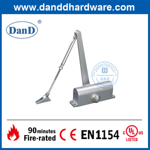 Aluminium Automatic Safety Hold Open Door Closer for Home-DDDC006