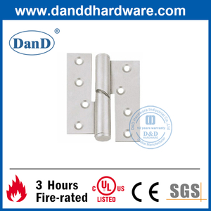 SUS316 Modern Silver Lift-off Falling Door Hinge for Metal Door- DDSS017