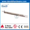 Stainless Steel Silver Flush Door Bolt for Wooden Door-DDDB005