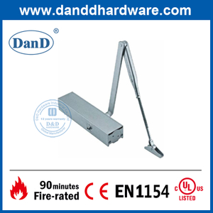 High Quality Aluminium Alloy 180 Degree Overhead Front Door Closer-DDDC012
