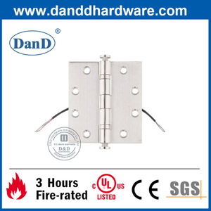 4.5 Inch Stainless Steel Silver Electrified Hinge –DDTD001